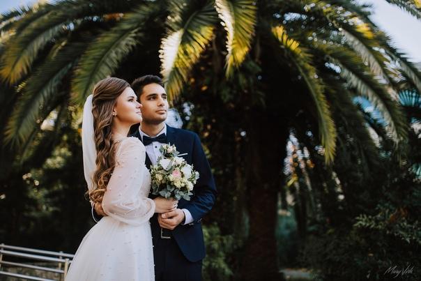 Свадебная фотосессия в Сочи.12.19