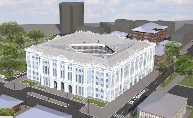 В Тюмени на месте старого корпуса ТюмГУ на улице Республики, 9 построят новый главный корпус.