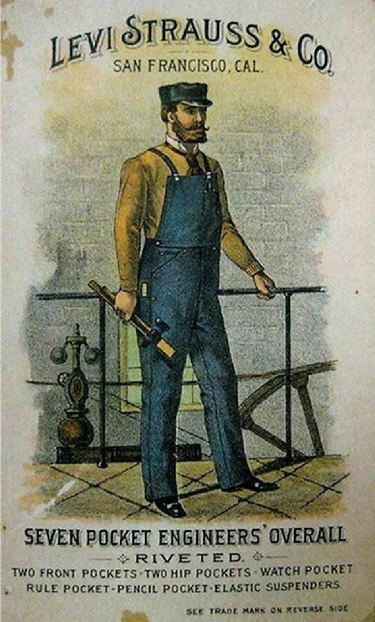 Сказка про Леви Страусса и его джинсы