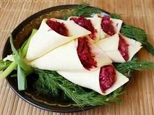 Как приготовить закуски и салаты «Каллы» — рецепты, идеи оформления, советы