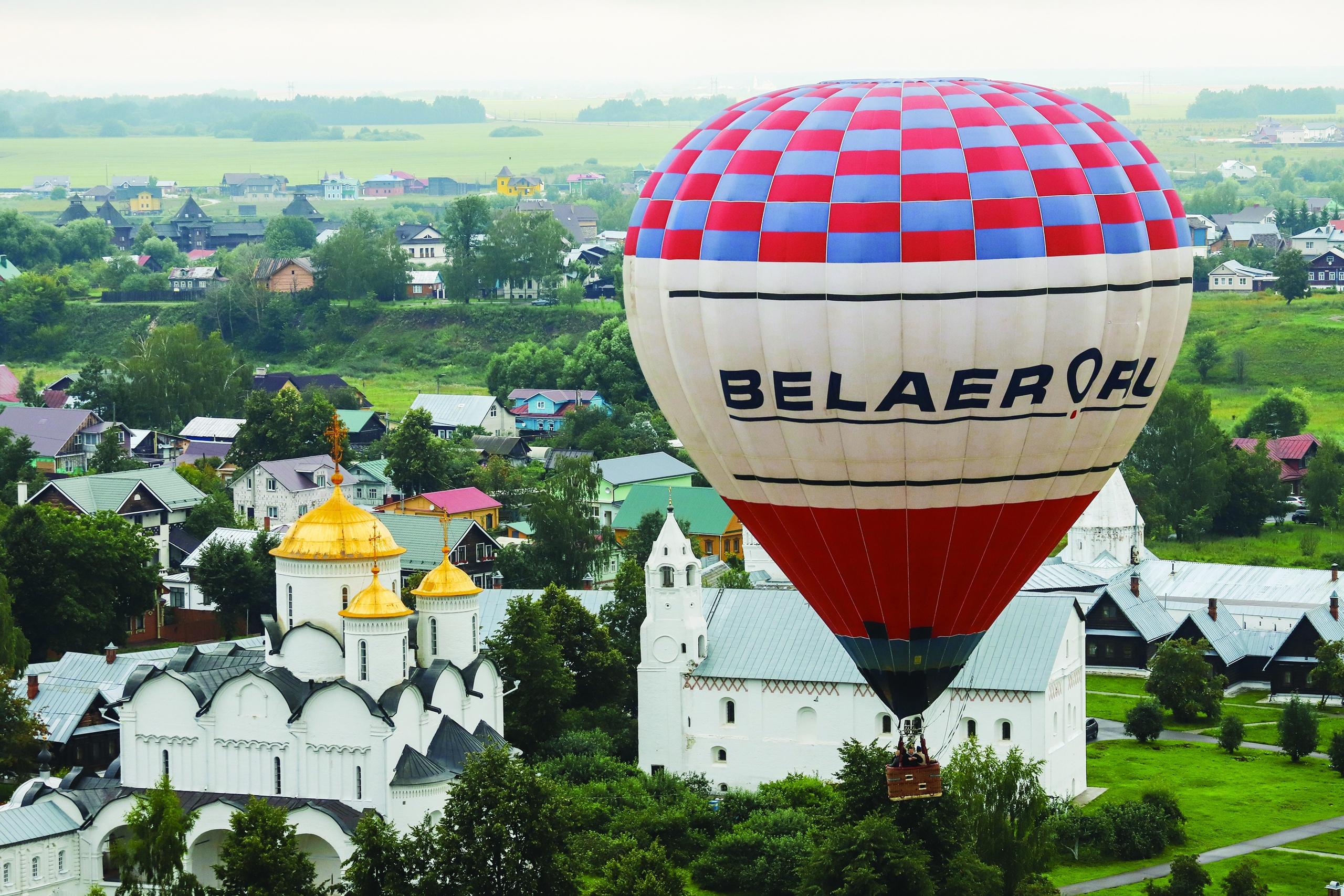 20-й Фестиваль воздухоплавателей «Золотое кольцо России» в Суздале