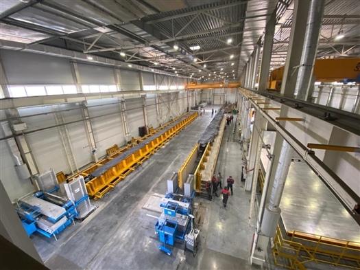 В Тольятти запустили завод сборных железобетонных изделий...