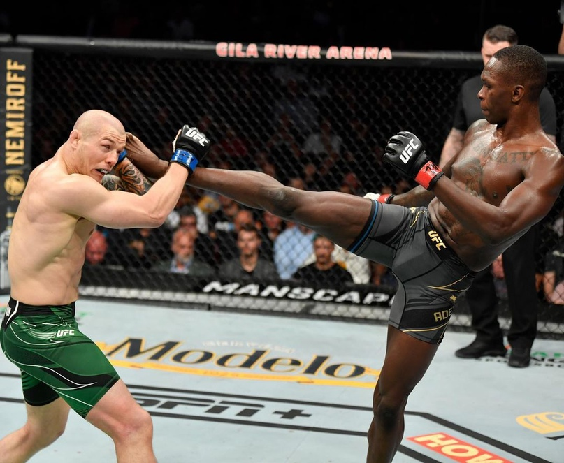 💥 Вот и прошёл очередной крупный номерной турнир UFC где мы увидели целых два чемпионских поединка.