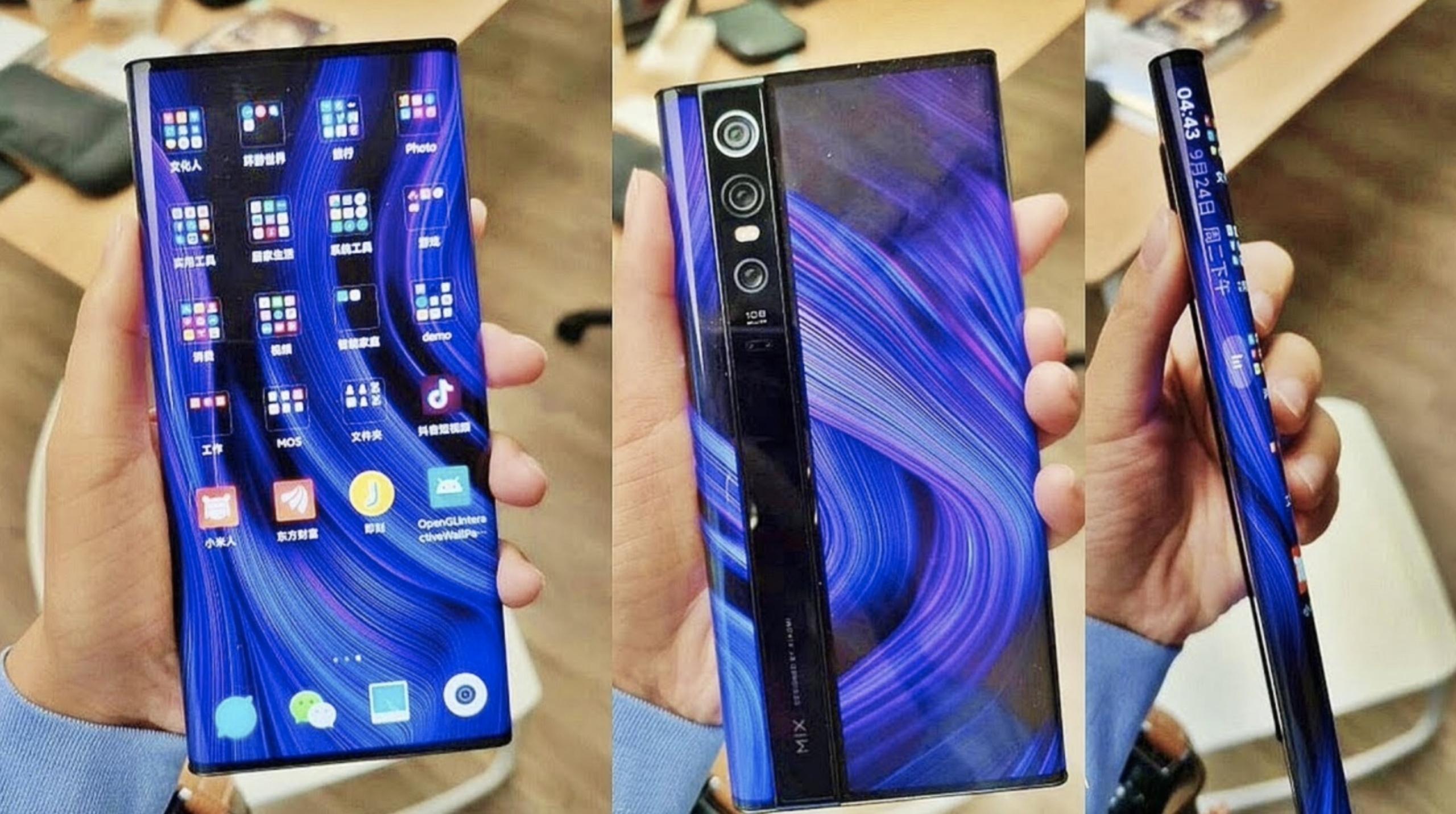 Смартфон Xiaomi Mix Alpha цена космос