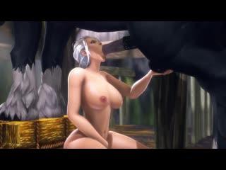 World of warcraft wow 3d porn порно jaina proudmoore blowjob handjob milf hentai хентай 18+