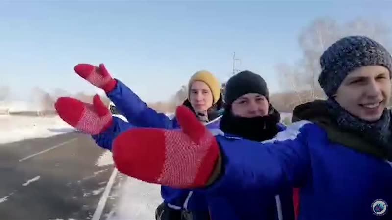 ОСД Андромеда. Снежный десант 2020