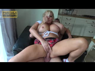 Michelle Thorne - Never had this sort of thing before [All Sex, MILF, Blonde, Big Tits, Handjob, Blowjob, Deep Throat, Spanking]