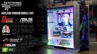 ASUS ROG Gundam Mobile Suit RX-78-2 Gaming PC Build