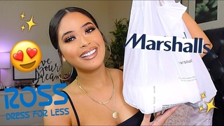 SHOP WITH ME AT MARSHALLS & ROSS ♡ CHEAP HIGH END MAKEUP, HOME DECOR + AFFORDABLE FALL CLOTHES !