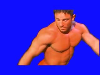[gachimuchi] sonny markham is dancing on a blue screen (сонни маркхем пляшет на синем экране)