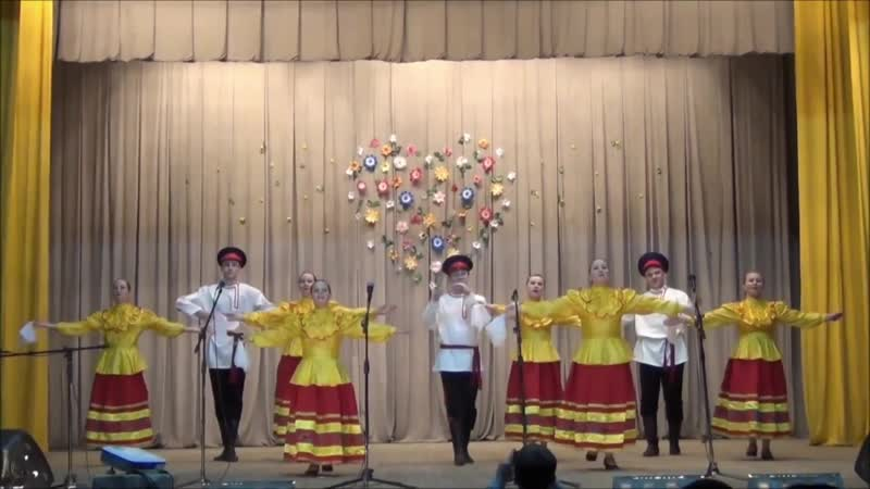 Ансамбль танца Белая река Казачий пляс
