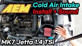 2021-06-22--ENG--AEM Cold Air Intake Installation + Sound (2019-2021 MK7 Volkswagen Jetta)