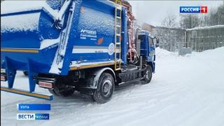 В Коми поступили мусоровозы на газомоторном топливе