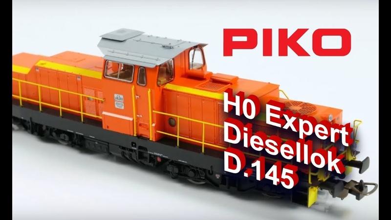 PIKO [V076] H0 Expert Diesellok D.145 FS Ep. IV 52840