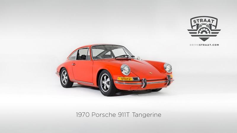 1970 Porsche 911T Tangerine Restoration Process