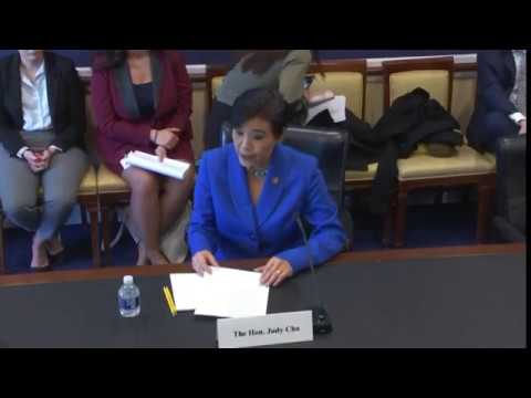 Rep Chu Testifies in Support of $10 Million in Artsakh Assistance Before Key Congressional Panel