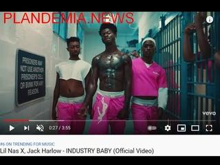 Новый голубой рэп-шедевр под оккультными кодами от Lil Nas X