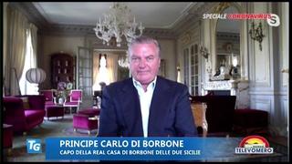 Emergenza Covid-19: Intervista di  il Principe Carlo di Borbone a Televomero
