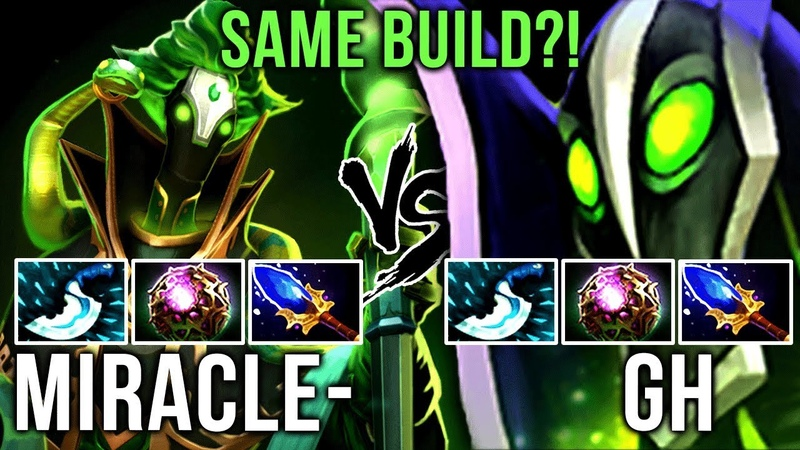 Miracle- vs GH-GOD - One Of The Best Rubick Players in Dota 2 - EPIC Battle - Dota 2