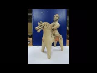 История древней глиняной игрушки стала темо художественно-исторической экспозиции Скирченко С.В.