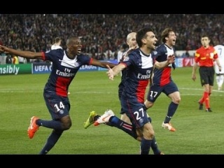 All goals of PSG in UEFA Champions League 2013-2014