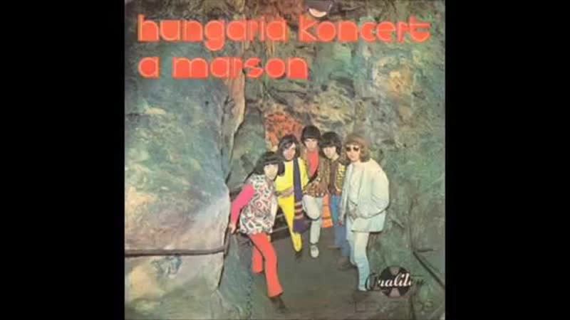 Hungária - Koncert a Marson (1970) full album