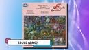 Обзор схемы SS-203 в Cross Stitch Saga (палитра ДМС)