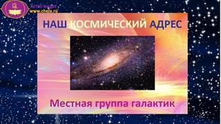 Космический адрес планеты Земля. Местная группа галактик