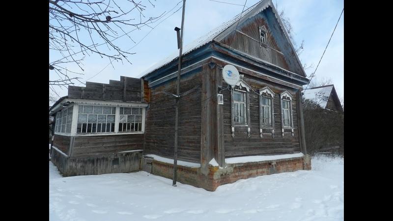 Дом с баней на участке 22 сотки в Подмосковье 850 тыс рублей