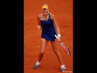 2014 Roland Garros Li Na vs Kristina Mladenovic Last Point