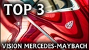Top 3 Vision Mercedes-Maybach - look into the future of the most luxurious car brand