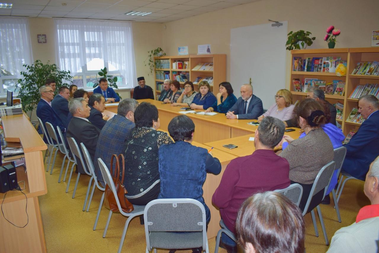 Заседание Совета РТНКА Маданият Татары Омск Миниханов Радик