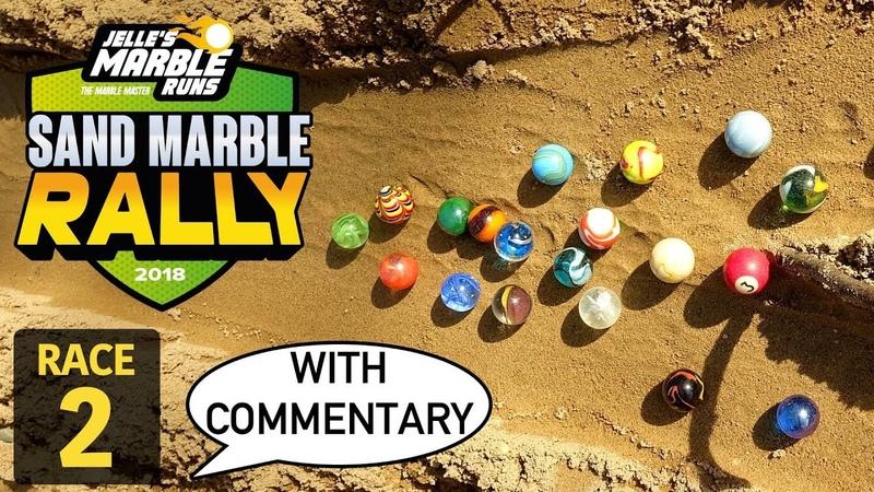 Jelle's Marble Runs Sand Marble Rally 2018 Race 2