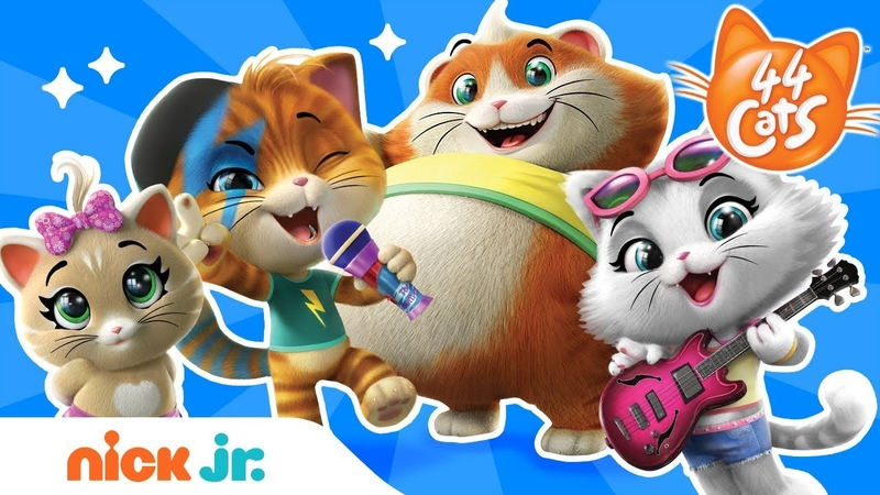 Meet Lampo Milady Meatball Pilou of 44 Cats 😺 Nick Jr