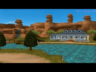 Barbie Horse Adventures Mystery Ride game intro│Барби: Приключения на Ранчо интро игры [HD]