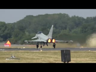 Eurofighter EF-2000 Typhoon Italian Air Force departure at RIAT 2018 RAF Fairfor