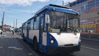 Троллейбус, маршрут №39 в парк по изменённой трассе ВЗТМ-5284 б.1940 () Санкт-Петербург