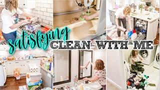NEW! 2-DAY SUPER SATISFYING CLEAN WITH ME | GET IT DONE SPRING CLEANING | ULTRA CLEANING MOTIVATION
