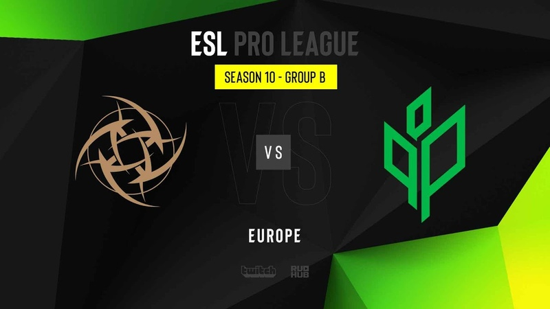 NiP vs Sprout - ESL Pro League Season 10 EU - map2 - de_nuke [Gromjkee Anishared]
