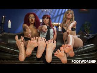 Maitresse madeline, daisy ducati, mona wales [hd porn, foot fetish sex, feet, femdom, group, orgy, hardcore, cumshot]