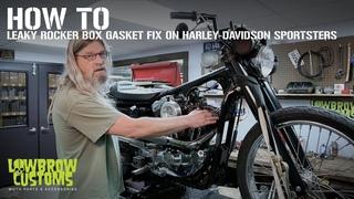 How-To Leaky Rocker Box Gasket Fix on Harley-Davidson Sportster