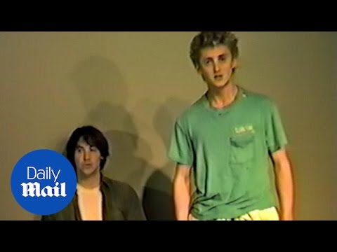 EXCLUSIVE never before seen Bill and Ted auditions Alex Winter and Keanu Reeves 1
