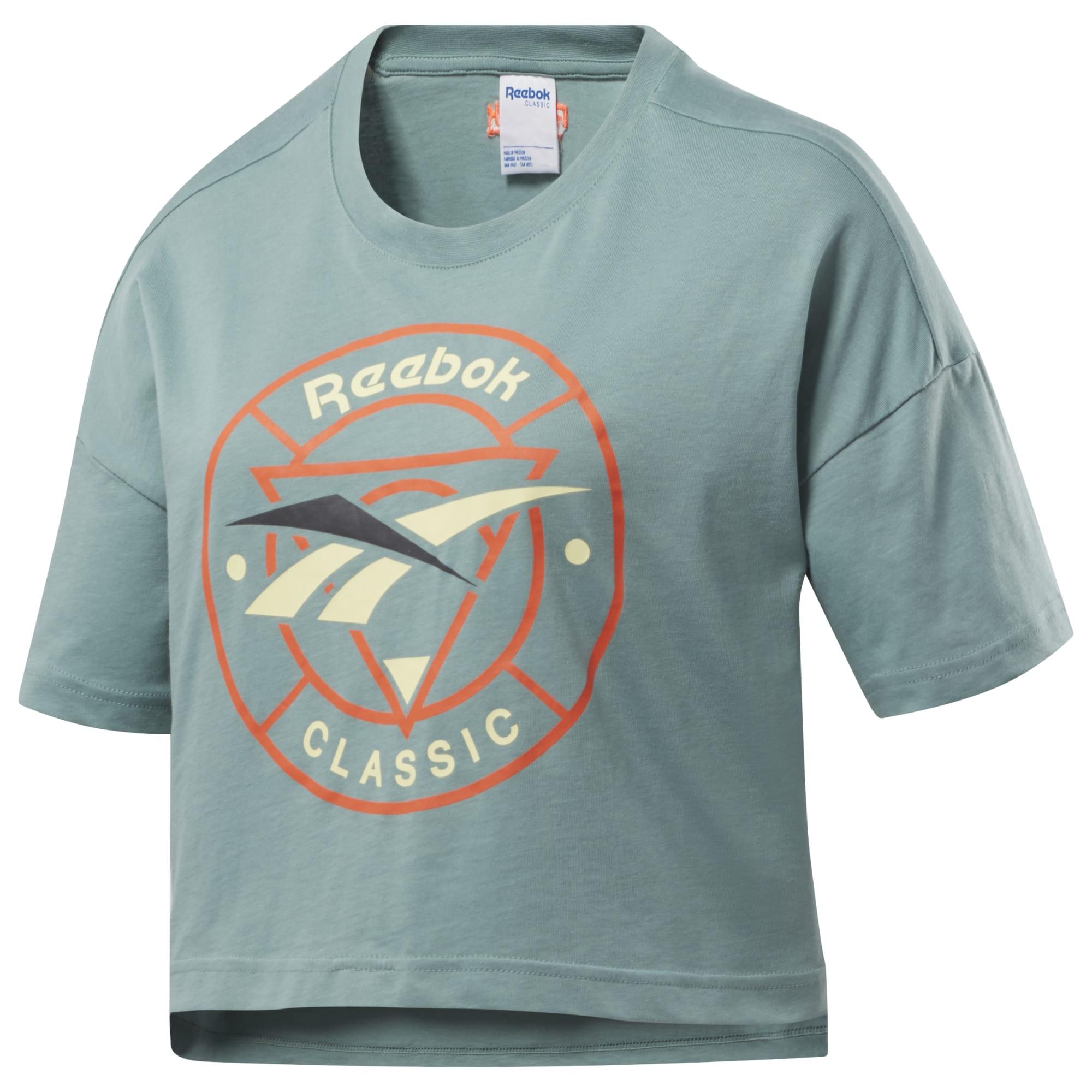 Укороченная футболка Classics Trail