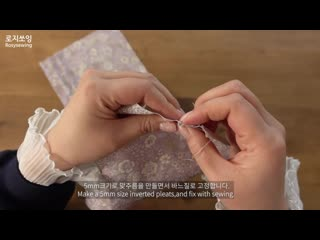 Making a dolls pintuck blouse  inverted pleats skirt  paola reina