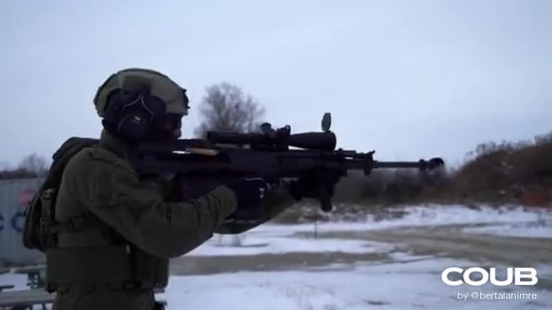 My weapon of choice GM6 Lynx Semi Auto 50 BMG Bullpup