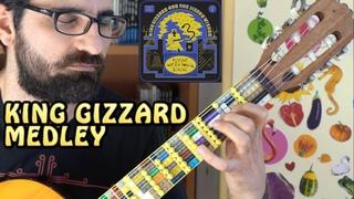 King Gizzard Medley - Lego Microtonal Guitar