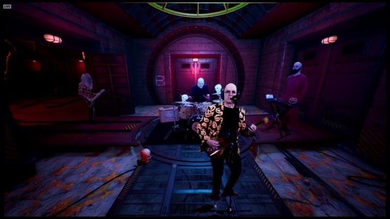 Devin Townsend Noisy Pink Bubbles LIVE Devin's Crappy Halloween Party 2020
