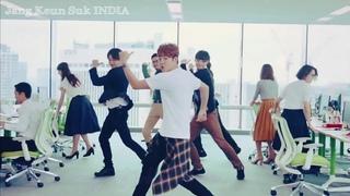 Dil Bechara × Jang Keun Suk   KoreanHindiMix   kdrama cute moments  JKS Dance   장근석   チャングンソク