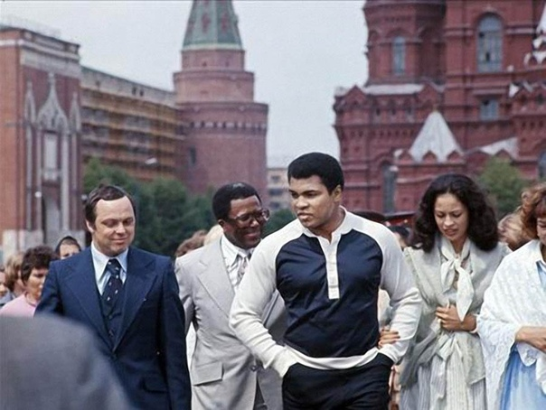 Мохаммед Али в СССР, 1978 год.