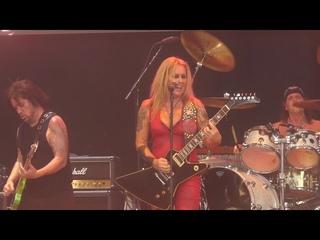 """Cherry Bomb"" Lita Ford@M3 Festival Columbia, MD 7/4/21"